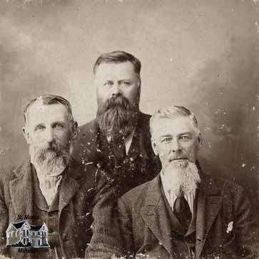 John Bain, Joseph McIntyre and Art Brown