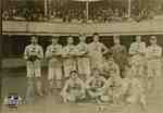 London All Star Lacrosse Team 1906-1907 in New York on Labour Day