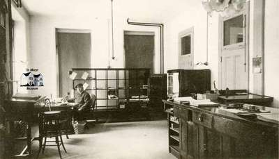 St. Marys Customs Office with Henry Wilson