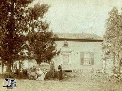 Joseph McIntyre's home in Motherwell