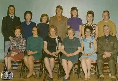 St. Marys North Ward Public School Teachers 1971-1972