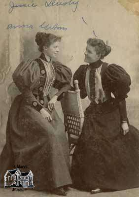 Jessie Dusty and Anna Wilson
