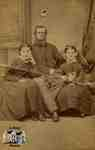 Angus McIntyre and his daughters Adaline and Mary Ann
