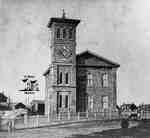 Central school in 1865