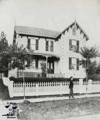 William Andrews Senior house on Church Street, 1884
