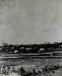 North Ward from the GTR bridge over Trout Creek, 1884