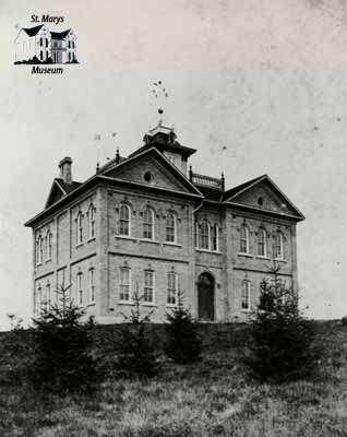 St. Marys Collegiate Institute, 1884