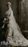 Charlotte Carter's wedding picture