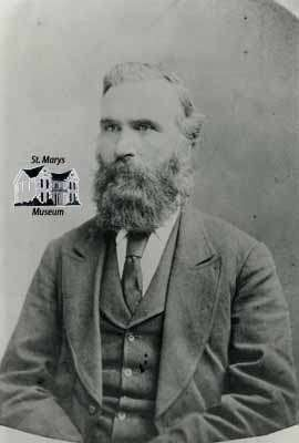 Dr. John Sinclair, ca. 1880