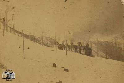 View on U.P. Railway