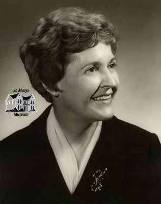 Mabel M. Cline; Mayor of St. Marys in 1967