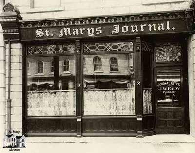 St. Marys Journal office