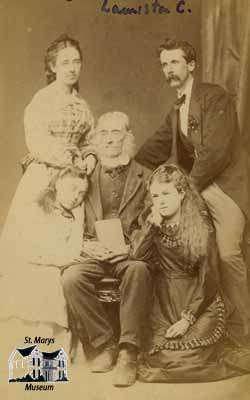 Jane Ford (Cruttenden), Dr. Ford, Lauriston Cruttenden, Julia and Mary