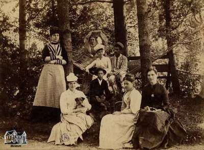 Group of people - including Nora Clench