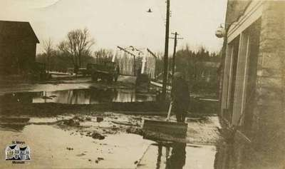 Aftermath of the Flood of 1937