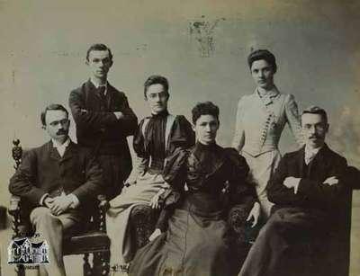 The Reverend William Caven's six children