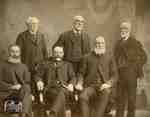 Group of men at 60 years of age, 1904