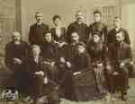 Staff of A. Beattie's, 1890