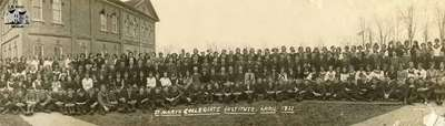 St. Marys Collegiate Institute Students, April 1922