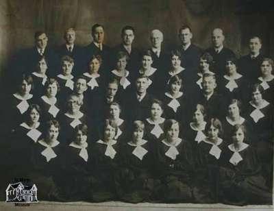 United Church Choir, 1930s