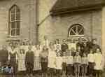 Union School, Blanshard, 1908