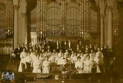 Methodist Church Choir, ca. 1908
