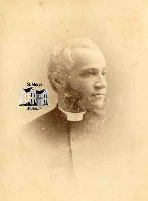 The Reverend Joel T. Wright, Rector of St. James Anglican Church (ca. 1870)