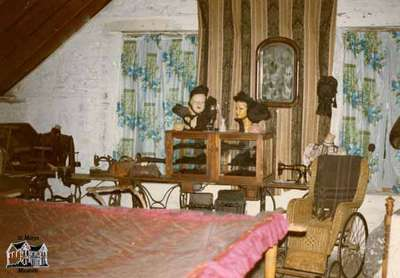 Loft of St. Marys Museum, ca. 1975
