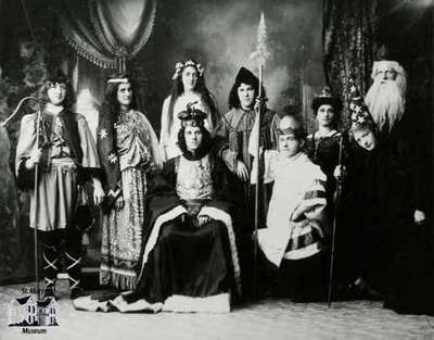 Production of Handel's 'Saul' at the Opera House, 1905