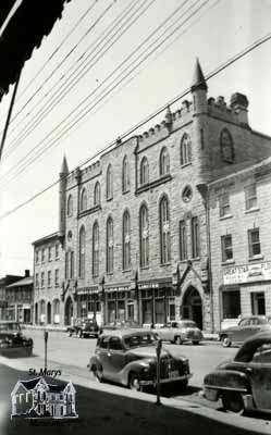 St. Marys Opera House, ca. 1950.