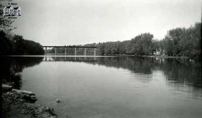 Sarnia Bridge, ca. 1950