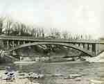 Concrete bridge over Humber River, Toronto