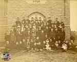 Picture of class at Rannoch School, 1890