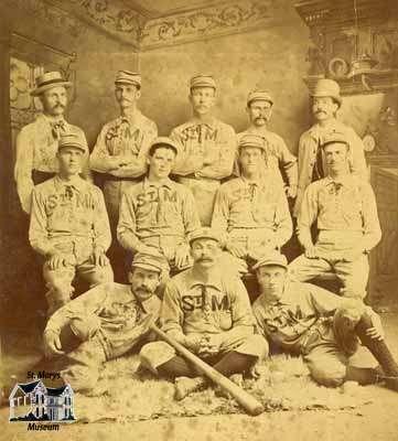 St. Marys Baseball Team, ca. 1880