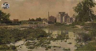 Victoria Bridge and the Thames River