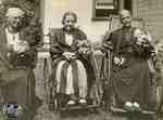 Ellen Anderson, Jemima Hamilton and Sarah Atkinson