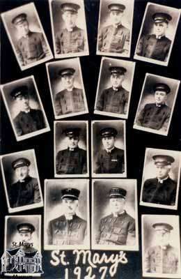 St. Marys Fire Department, 1927