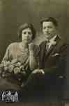 Jack (Attilio) and Flossie (Florence) Sgariglia wedding photo