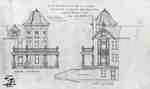 Proposed plans to build extensions onto Westover, 1911