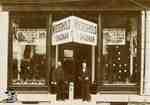 Wiederhold Shoeman store exterior, ca. 1890