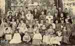 Class of Rannoch school, Blanshard - 1895