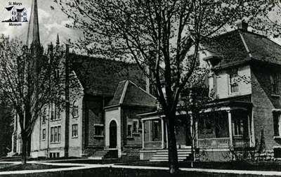 Methodist Church and parsonage