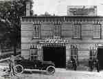 Sheldon and Standeaven Garage located on southwest corner of Peel and Queen Streets