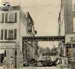 Aftermath of fire to 117 Queen Street East, ca. 1975