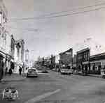Queen Street looking east from the northwest corner of Queen and Water Streets, ca. 1952