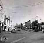 Queen Street looking east from the northwest corner of Queen and Water Streets, ca. 1952