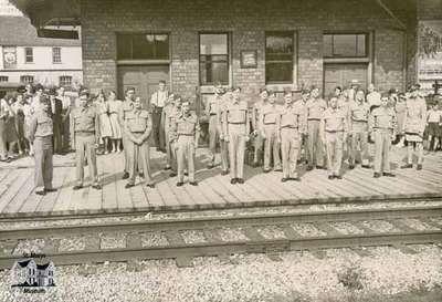 CN Station during World War II