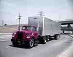 Tractor Trailer Transport Truck
