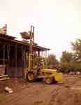 Fork Lift Used in Building Construction