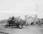 Boom type, self-propelled sprayers, IHC model 163, at the J. Reise ranch in western Canada.